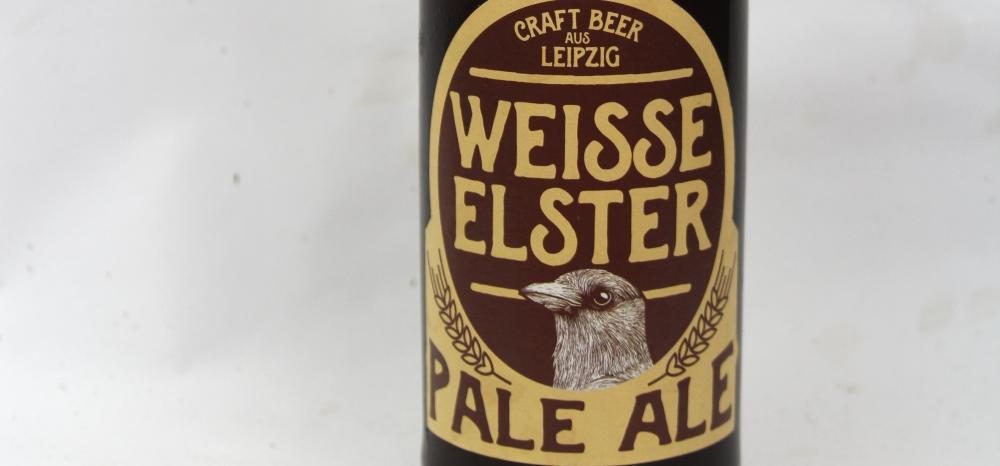 Weisse Elster Pale Ale Etikett