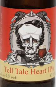 Tell Tale Heart IPA Etikett