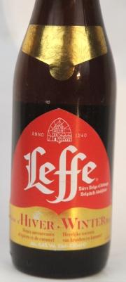 Leffe Winter Etikett