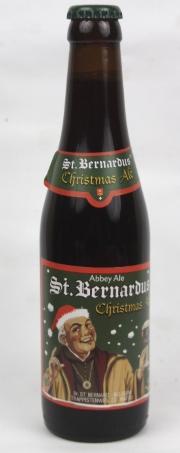 St. Bernardus Christmas Ale Etikett