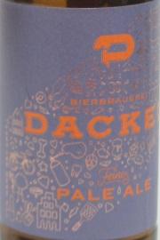 Dackel Feines Pale Ale Etikett