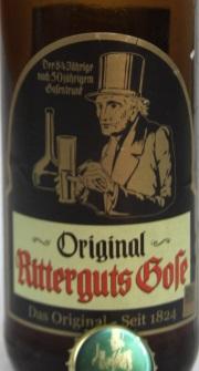 Original Ritterguts Gose Etikett