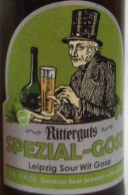 Ritterguts SPEZIAL-GOSE Etikett