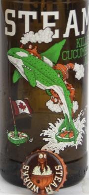 Steam Killer Cucumber Ale Etikett