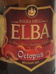 ELBA Octopus Etikett