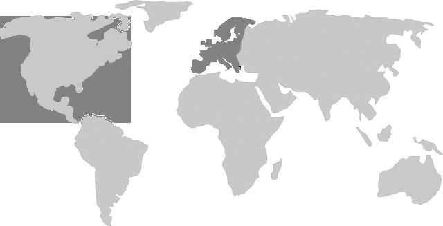 Herkunft des East Kent Golding Hopfen: Europa