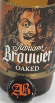 Adriaen Brouwer Oaked Etikett
