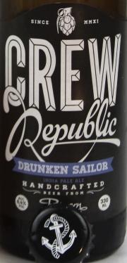 Crew Republic DRUNKEN SAILOR Etikett