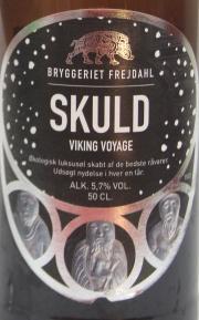SKULD Viking Voyage Etikett